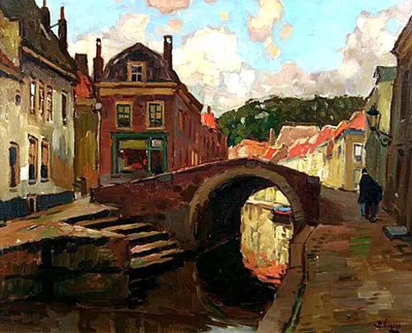风景油画,荷兰画家Ben Viegers插图23