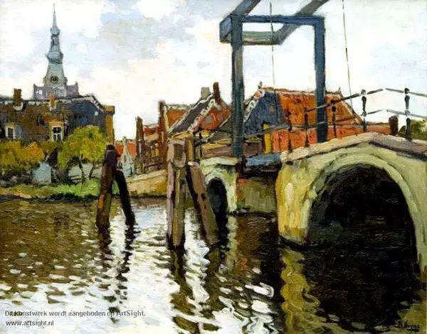 风景油画,荷兰画家Ben Viegers插图25
