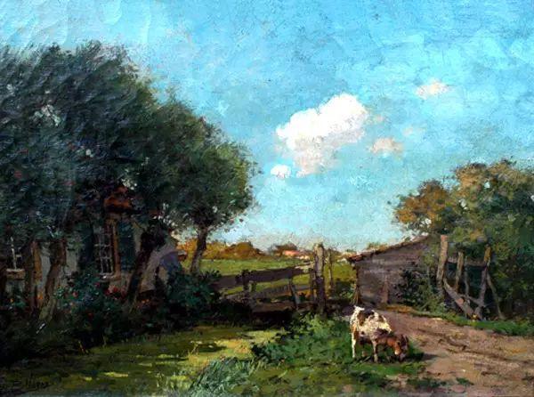 风景油画,荷兰画家Ben Viegers插图29