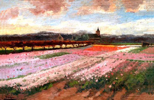 风景油画,荷兰画家Ben Viegers插图31
