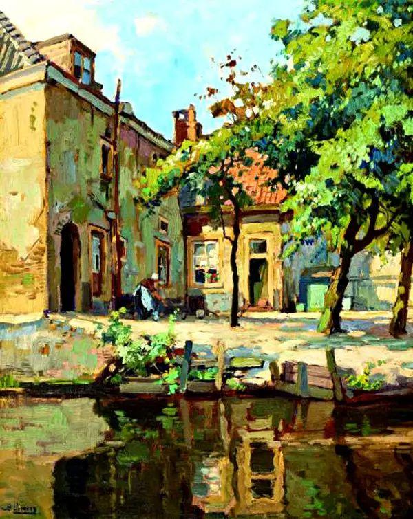 风景油画,荷兰画家Ben Viegers插图33