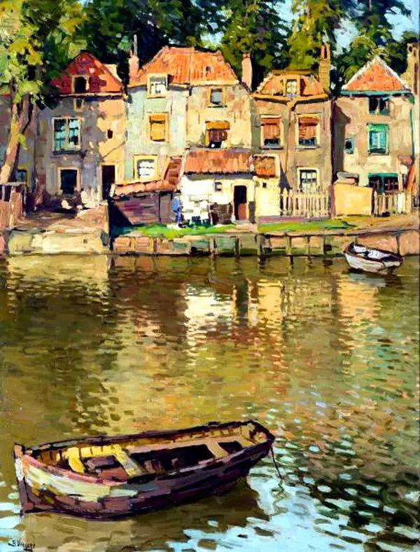 风景油画,荷兰画家Ben Viegers插图35