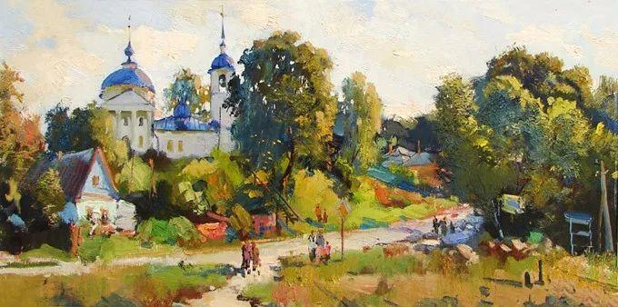 色彩美极了,乌克兰画家Lukash Anatoliy插图1