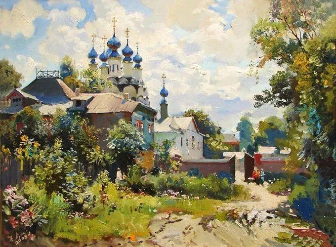 色彩美极了,乌克兰画家Lukash Anatoliy插图2