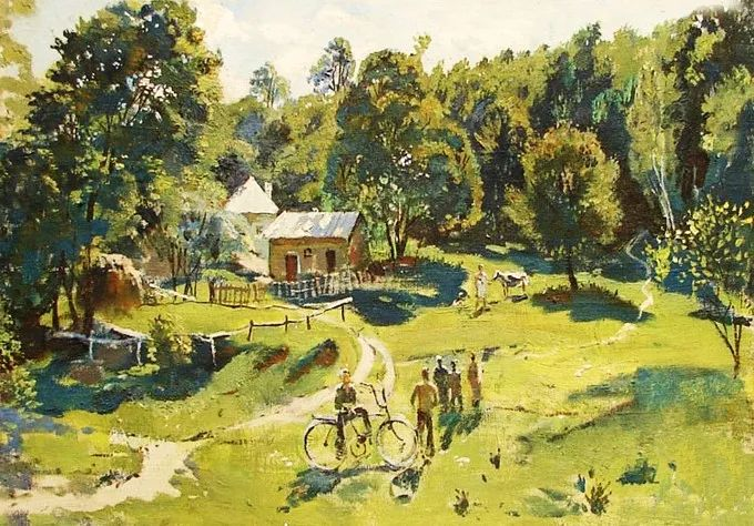 色彩美极了,乌克兰画家Lukash Anatoliy插图3