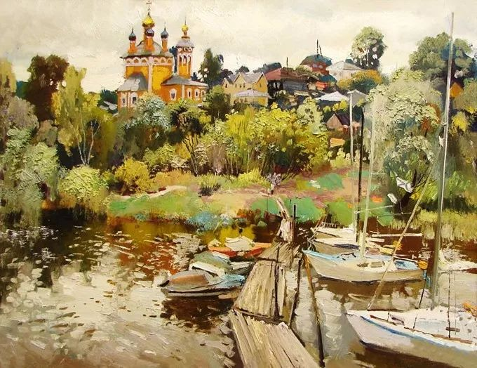 色彩美极了,乌克兰画家Lukash Anatoliy插图5