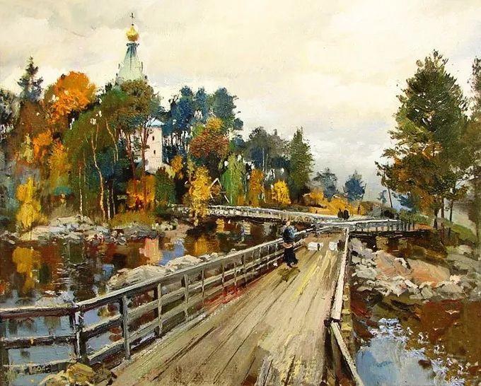 色彩美极了,乌克兰画家Lukash Anatoliy插图9