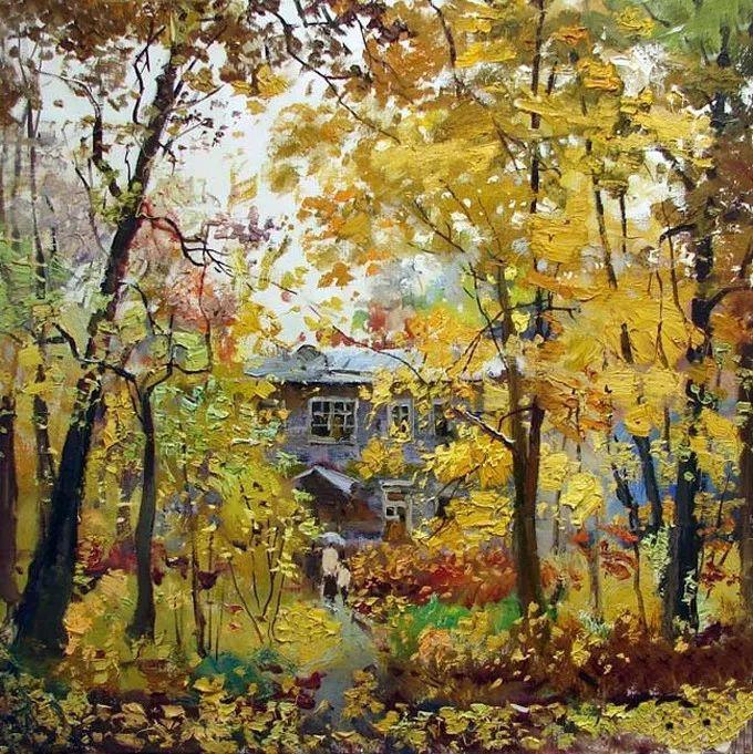 色彩美极了,乌克兰画家Lukash Anatoliy插图25