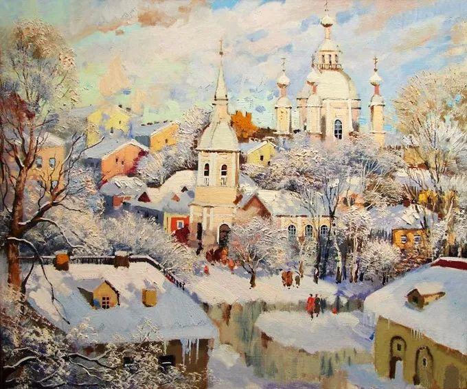 色彩美极了,乌克兰画家Lukash Anatoliy插图28