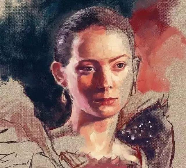 人物肖像,意大利画家Michele Petrelli插图2