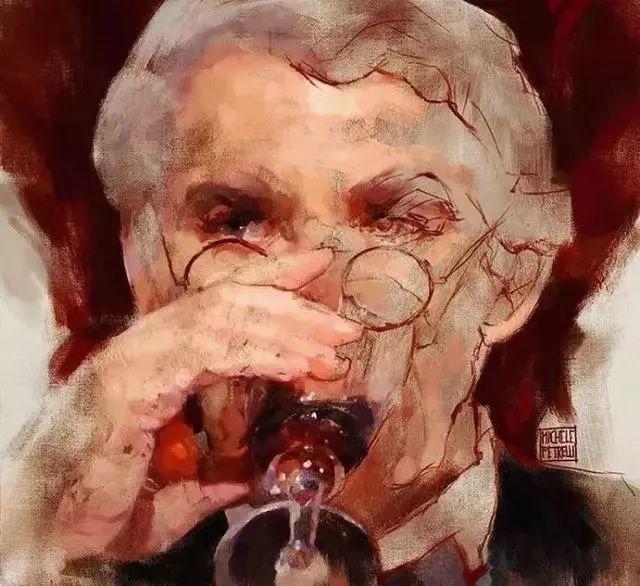 人物肖像,意大利画家Michele Petrelli插图4
