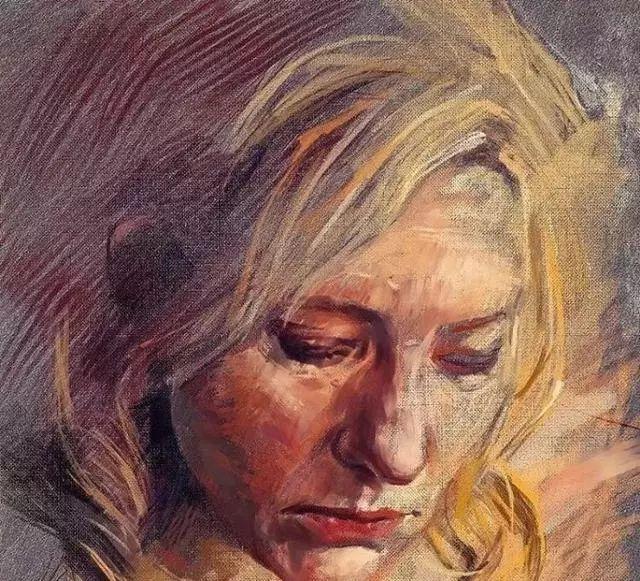 人物肖像,意大利画家Michele Petrelli插图6