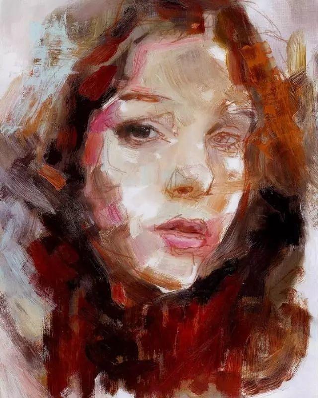 人物肖像,意大利画家Michele Petrelli插图10