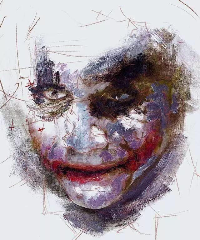 人物肖像,意大利画家Michele Petrelli插图23