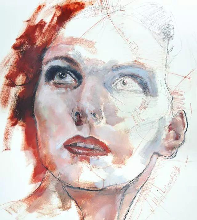 人物肖像,意大利画家Michele Petrelli插图24