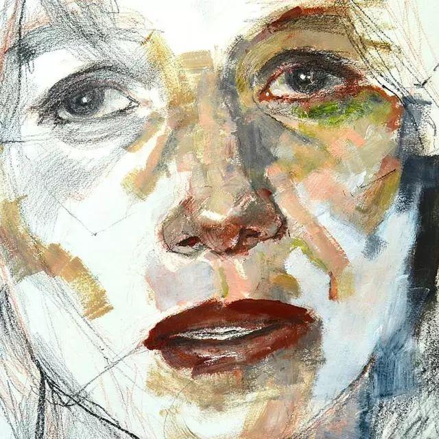 人物肖像,意大利画家Michele Petrelli插图25