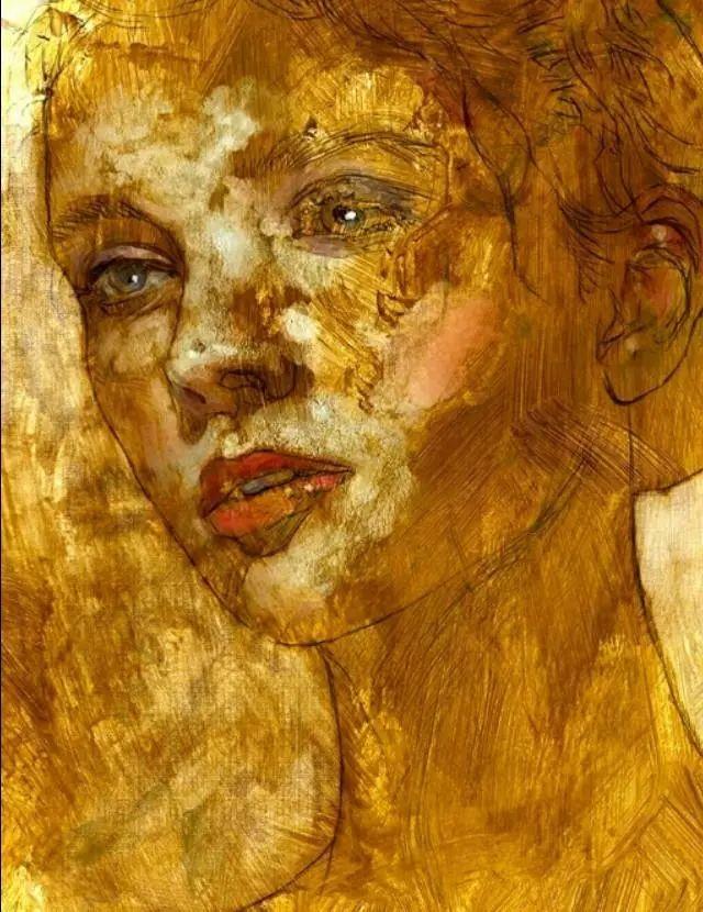 人物肖像,意大利画家Michele Petrelli插图26