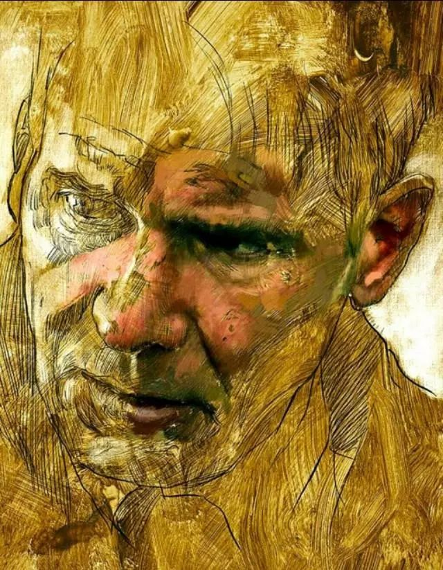 人物肖像,意大利画家Michele Petrelli插图27