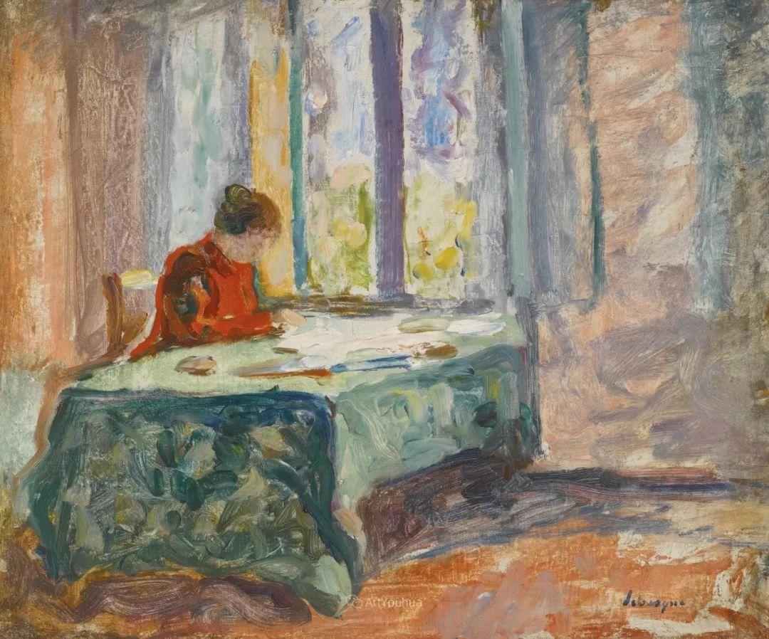 人物篇,法国后印象派画家亨利·莱巴斯克插图6