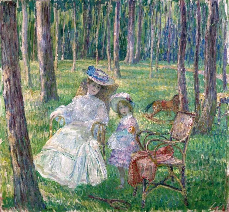 人物篇,法国后印象派画家亨利·莱巴斯克插图8