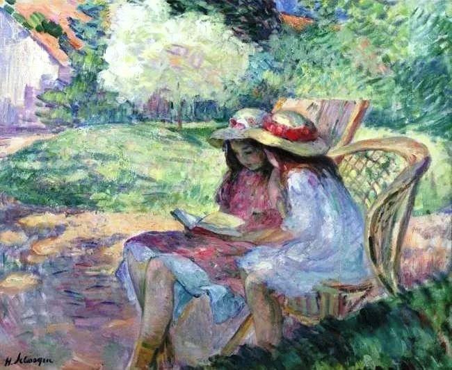 人物篇,法国后印象派画家亨利·莱巴斯克插图9