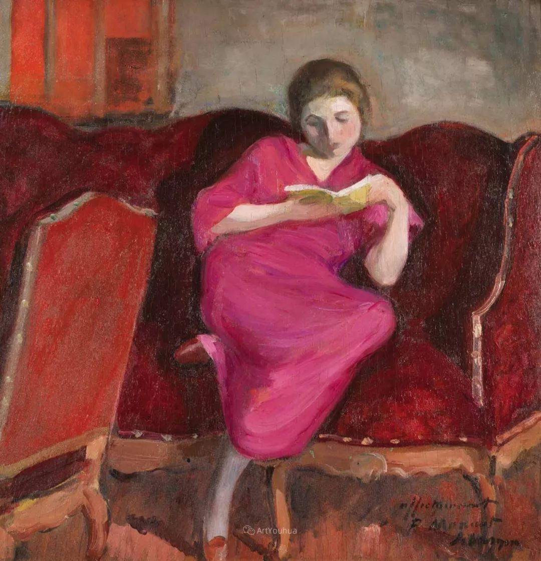 人物篇,法国后印象派画家亨利·莱巴斯克插图11