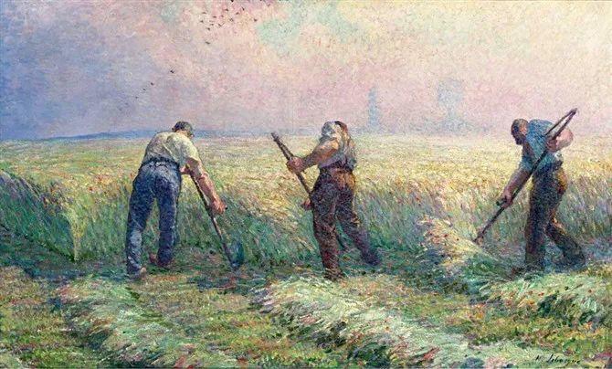 人物篇,法国后印象派画家亨利·莱巴斯克插图13