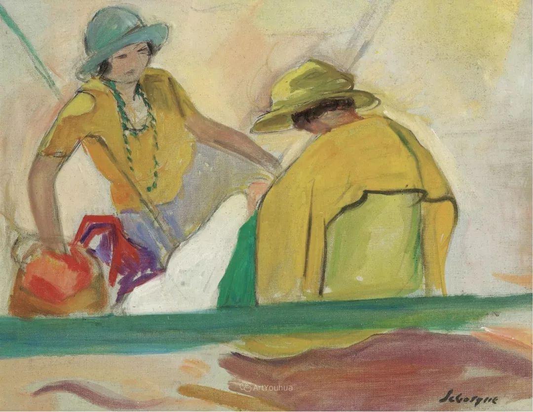 人物篇,法国后印象派画家亨利·莱巴斯克插图14