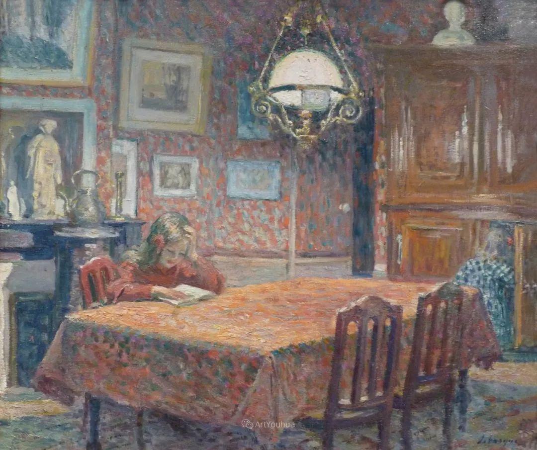 人物篇,法国后印象派画家亨利·莱巴斯克插图15