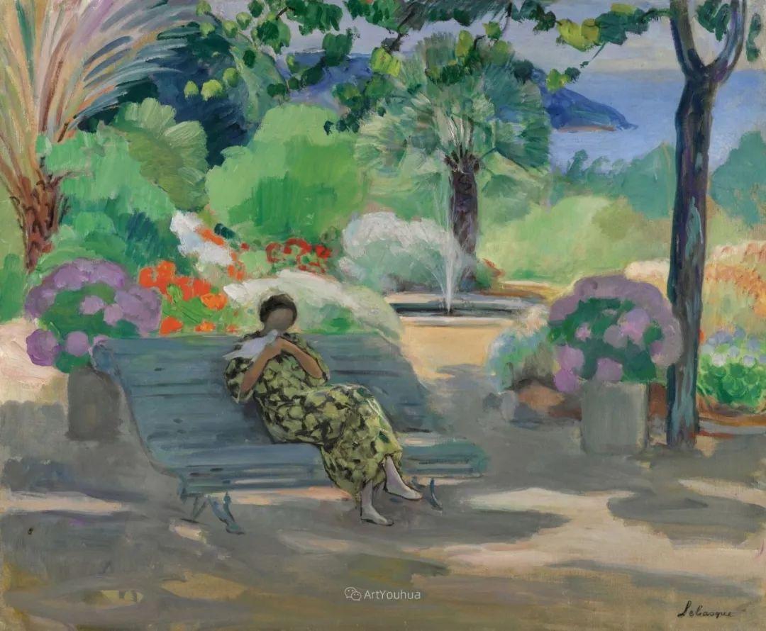 人物篇,法国后印象派画家亨利·莱巴斯克插图16