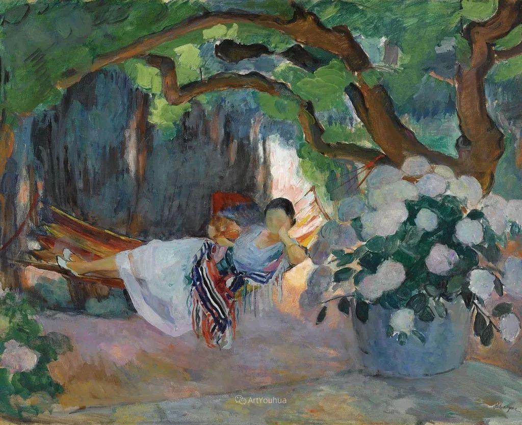人物篇,法国后印象派画家亨利·莱巴斯克插图17