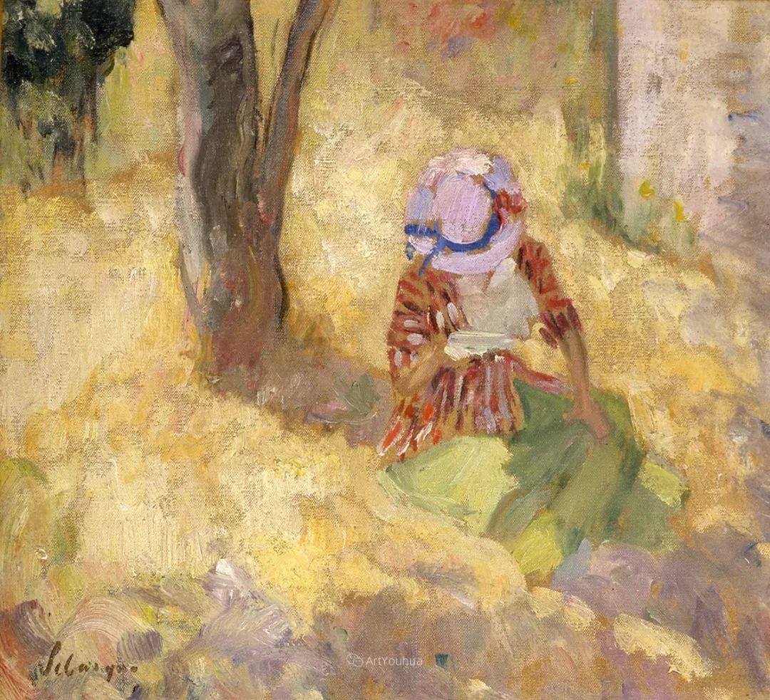 人物篇,法国后印象派画家亨利·莱巴斯克插图18