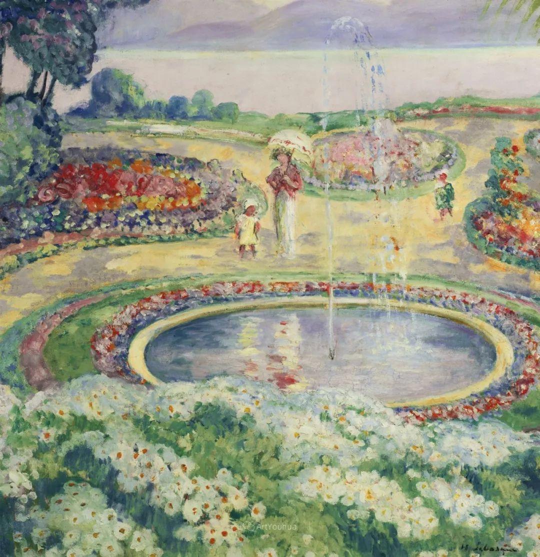 人物篇,法国后印象派画家亨利·莱巴斯克插图20