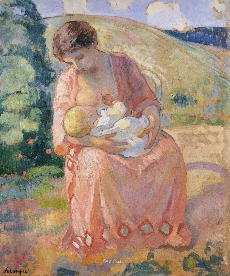 人物篇,法国后印象派画家亨利·莱巴斯克插图23