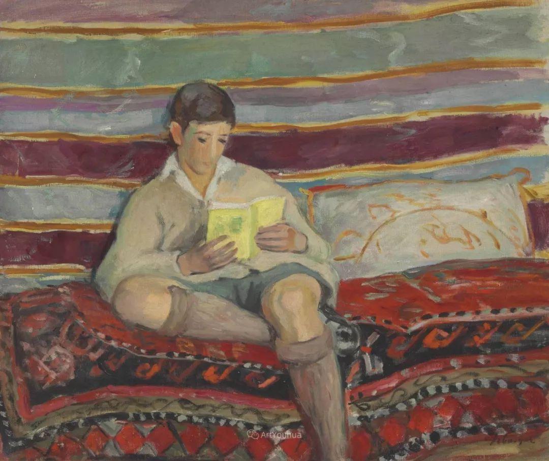 人物篇,法国后印象派画家亨利·莱巴斯克插图24