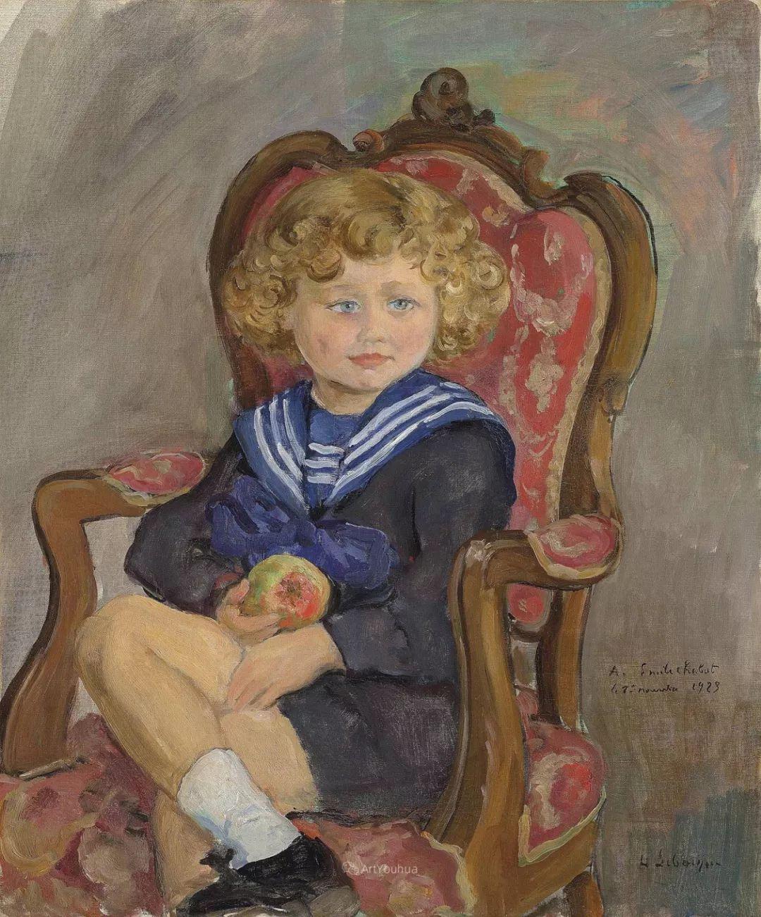 人物篇,法国后印象派画家亨利·莱巴斯克插图25