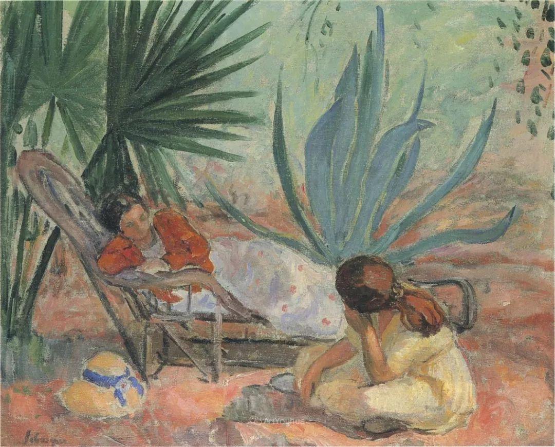 人物篇,法国后印象派画家亨利·莱巴斯克插图27