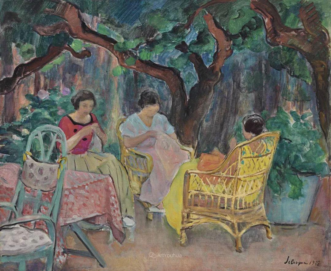 人物篇,法国后印象派画家亨利·莱巴斯克插图28