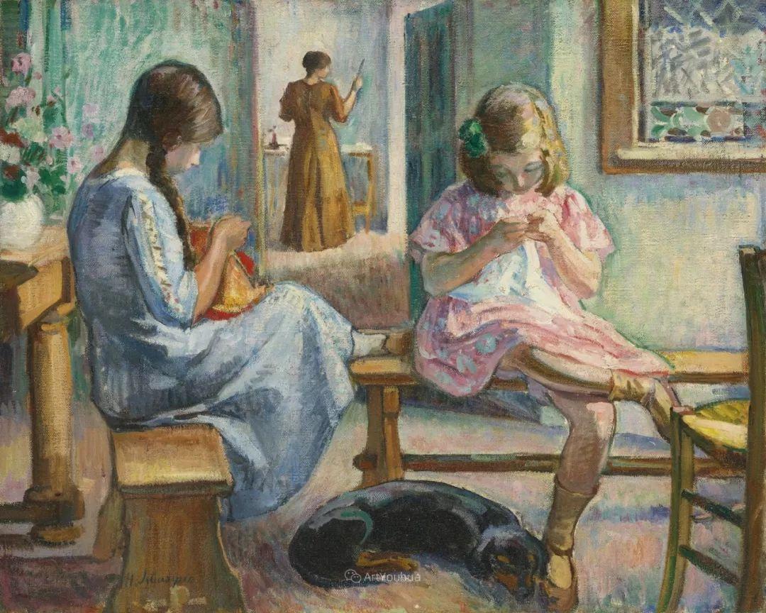 人物篇,法国后印象派画家亨利·莱巴斯克插图29