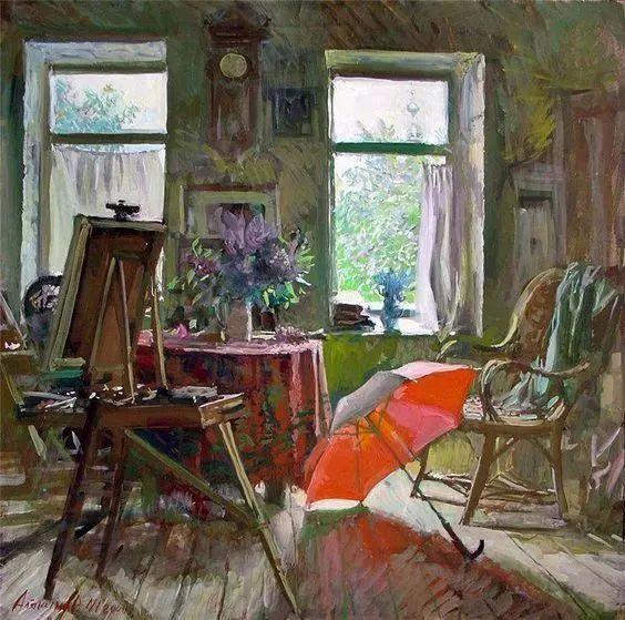 她的油画都为你开了一扇窗,丹麦德裔女画家Bertha Wegmann插图2
