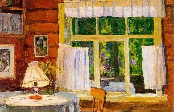 她的油画都为你开了一扇窗,丹麦德裔女画家Bertha Wegmann插图3