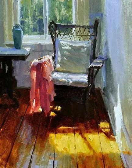 她的油画都为你开了一扇窗,丹麦德裔女画家Bertha Wegmann插图4