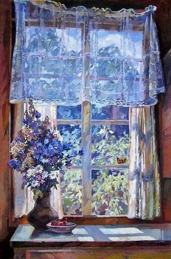 她的油画都为你开了一扇窗,丹麦德裔女画家Bertha Wegmann插图5