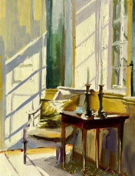 她的油画都为你开了一扇窗,丹麦德裔女画家Bertha Wegmann插图6