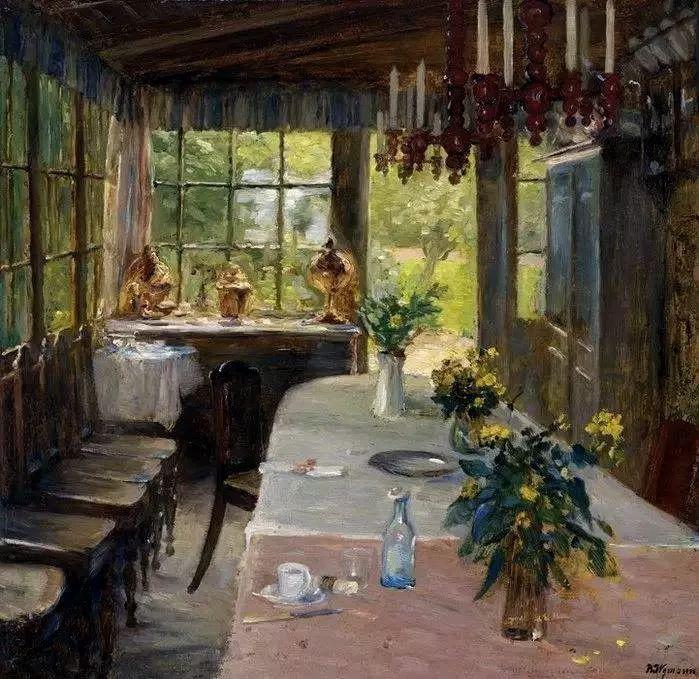 她的油画都为你开了一扇窗,丹麦德裔女画家Bertha Wegmann插图7