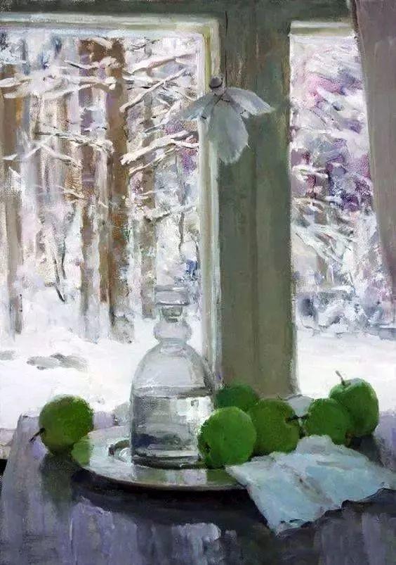 她的油画都为你开了一扇窗,丹麦德裔女画家Bertha Wegmann插图8