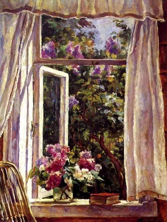 她的油画都为你开了一扇窗,丹麦德裔女画家Bertha Wegmann插图11