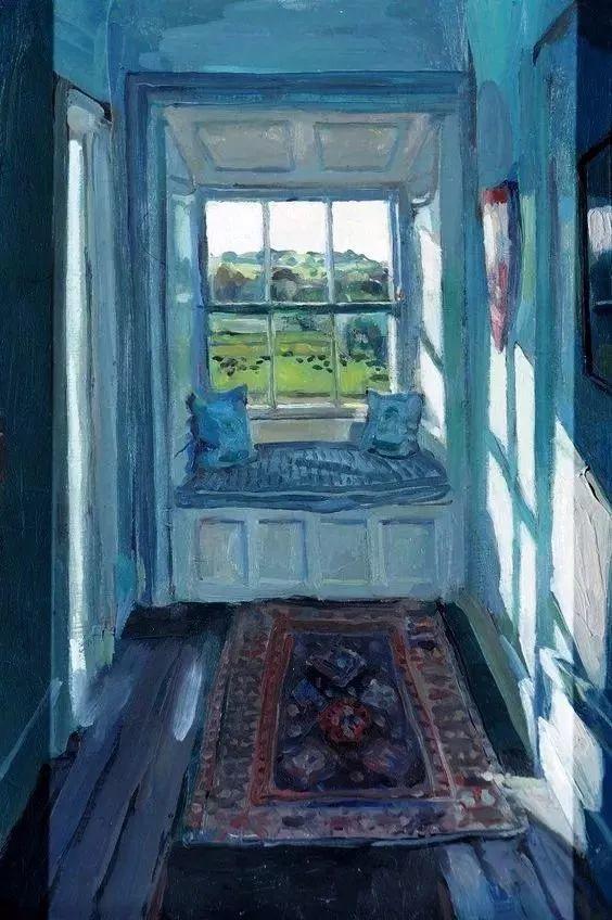她的油画都为你开了一扇窗,丹麦德裔女画家Bertha Wegmann插图12