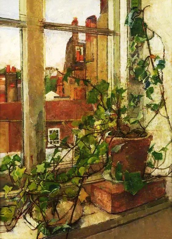 她的油画都为你开了一扇窗,丹麦德裔女画家Bertha Wegmann插图13