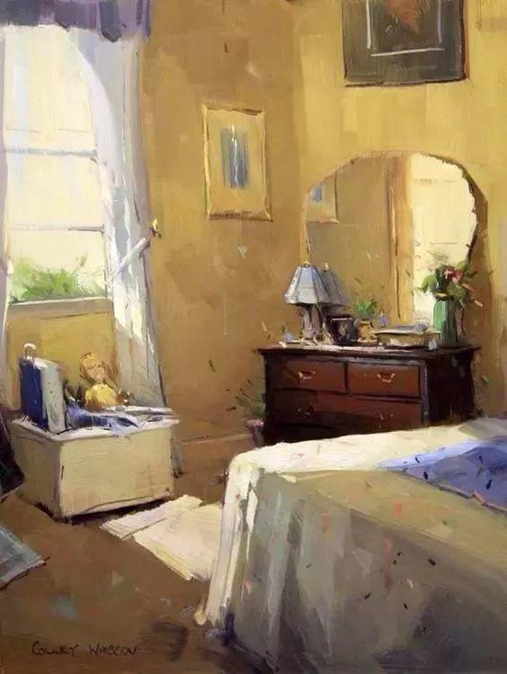 她的油画都为你开了一扇窗,丹麦德裔女画家Bertha Wegmann插图15